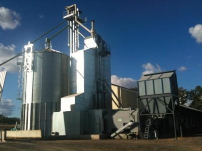 Secadores com Caldeira a Biomassa