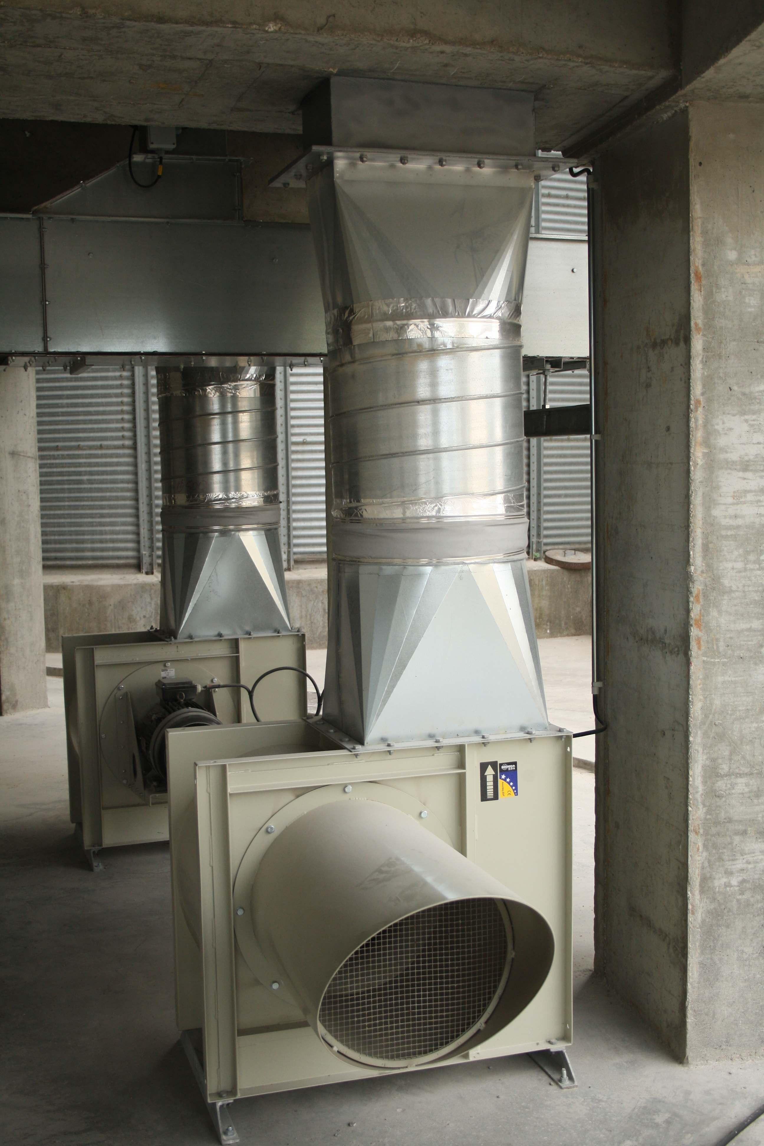 Ventiladores Industriais 1
